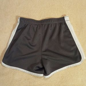 Justice Bottoms - Justice mesh shorts with fold over waistband.